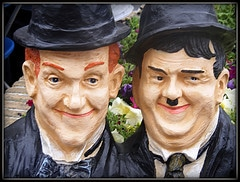 What's Laurel and Hardy got to do with Internet Marketing? (photo courtesy of bdjsb7)