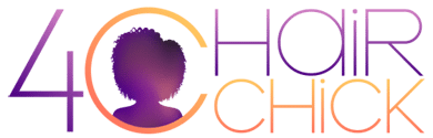 4C Hair Chick logo